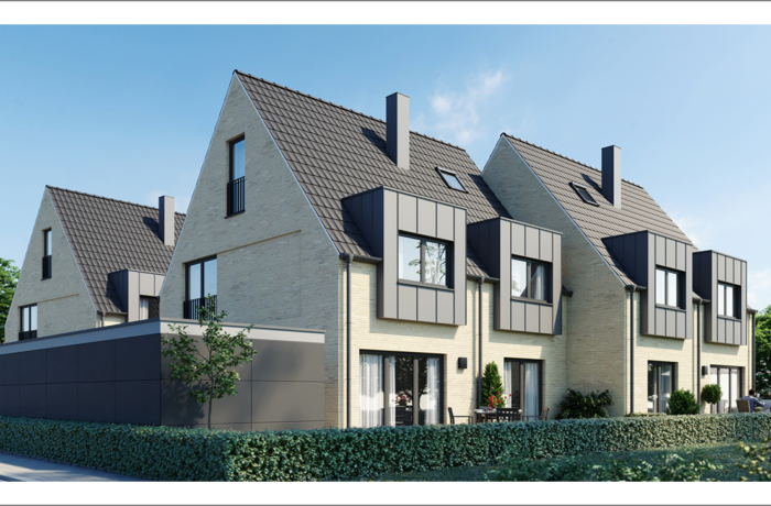 Vier Doppelhaushälften in Münster